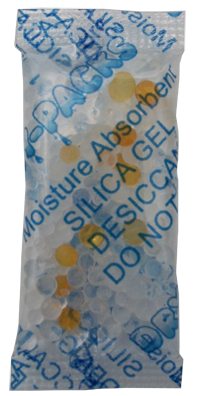 3 Gram Indicating Silica Gel Packet