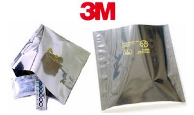 "10x20"" 3M Dri-Shield Open Top Moisture Barrier Bags"