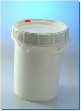 5 Gallon Moisture Barrier Recloseable Bucket