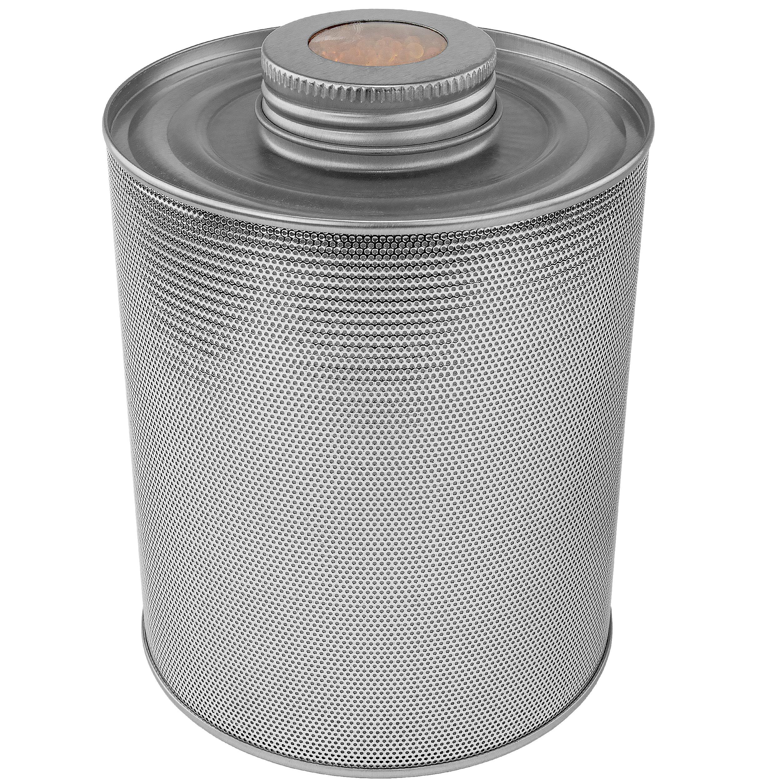 750 Gram Indicating Silica Gel Steel Canister
