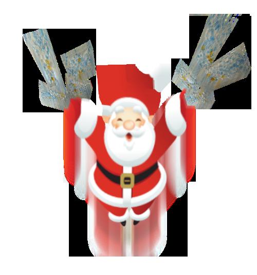 Dry-Packs Santa