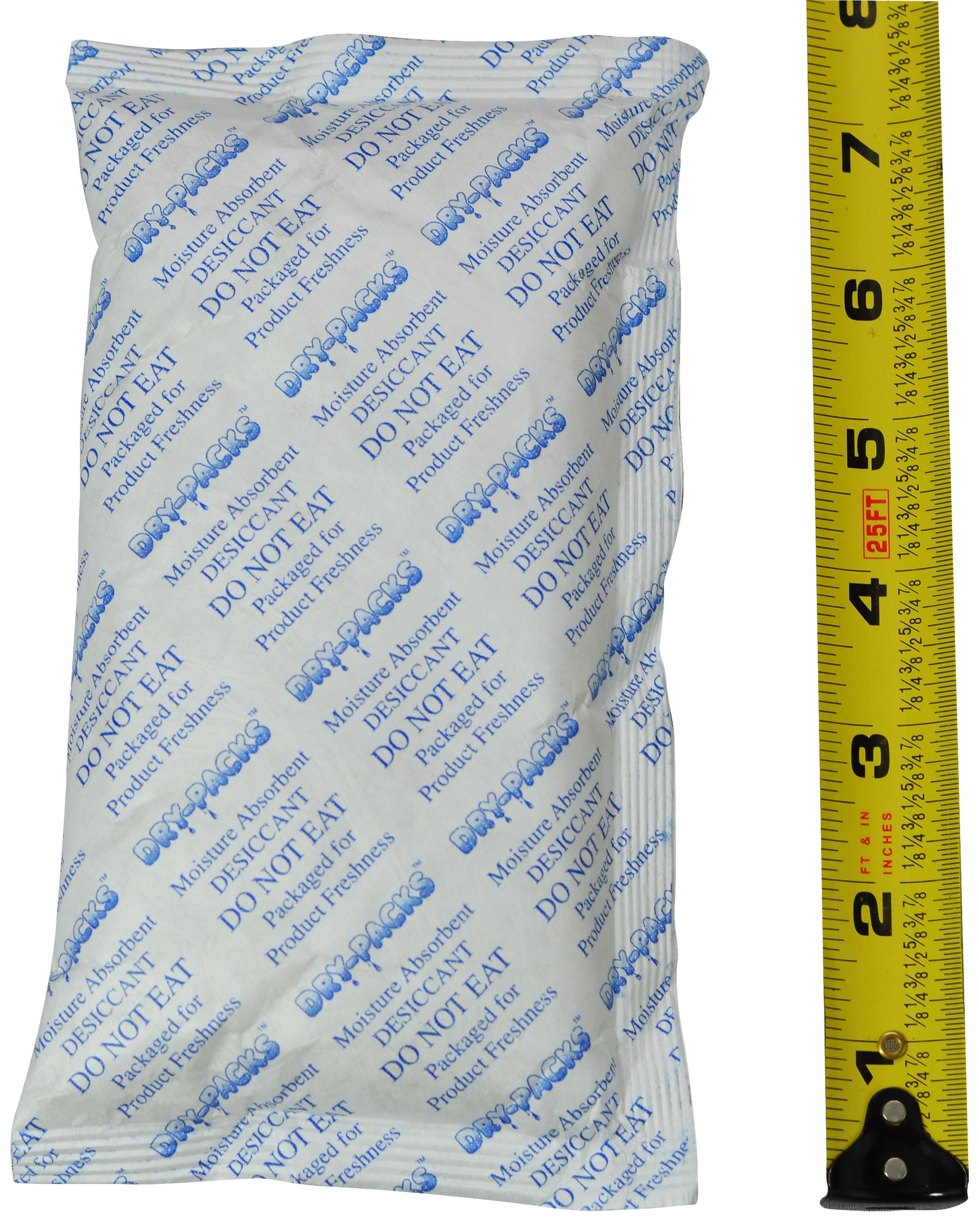 224 Gram (8 Unit) Silica Gel Packet - Tyvek