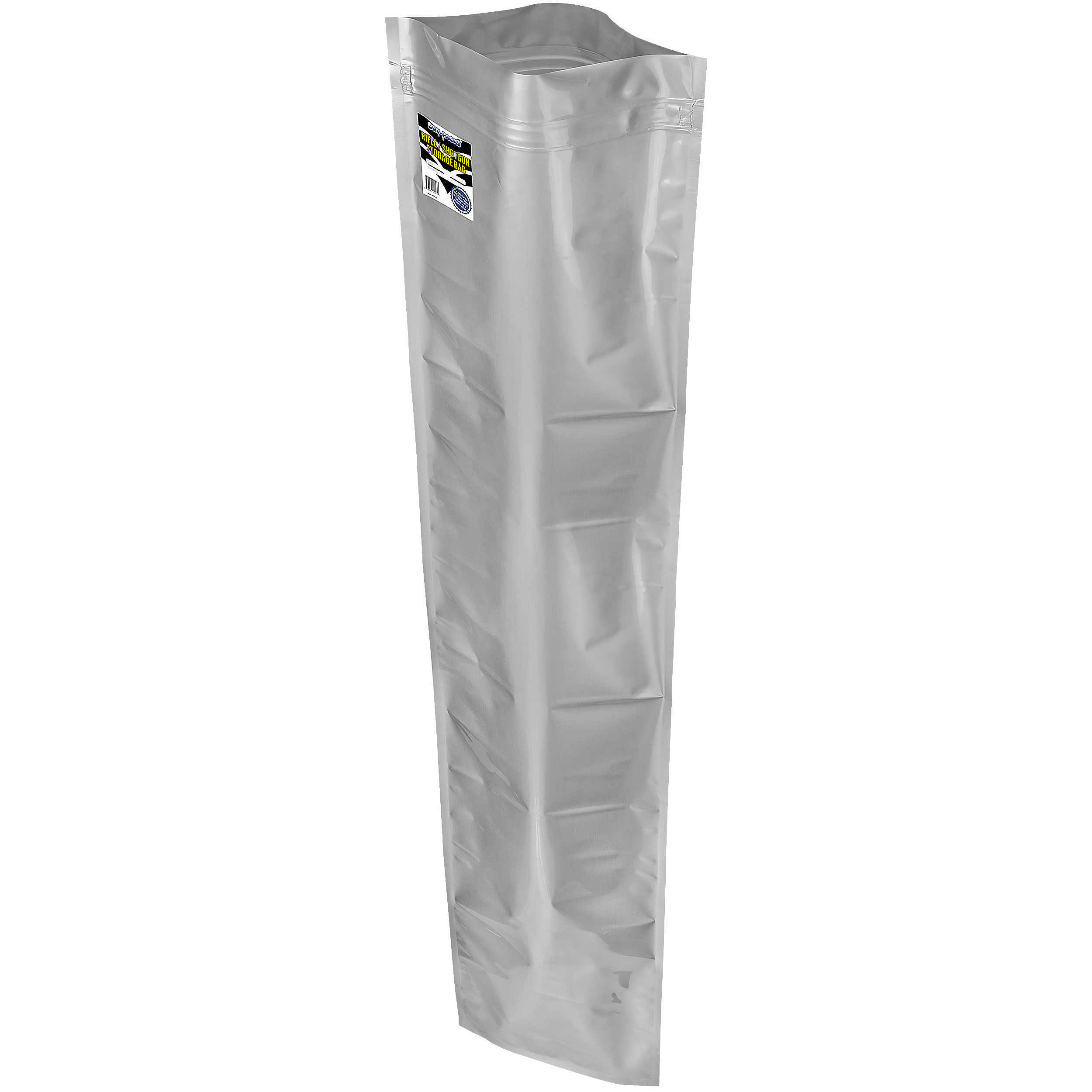 "12x52"" Aluminized Moisture Barrier & Static Shielding Zipper Bags"